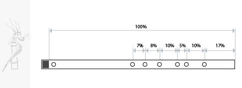 Схема строения флейты